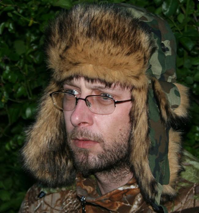 Skee Tex fur deerstalker style hat