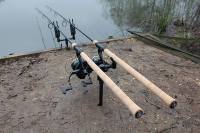 My carp fishing setup 2017 part 1 rods reels line and for Fishing rod setup